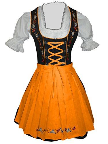 Dirndl-s Di06os 3pcs. Size 20, women Oktoberfest