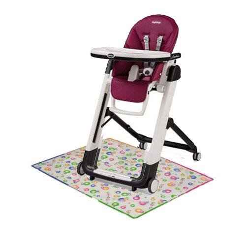 Peg Perego Siesta High Chair with Splat Matt - Berry