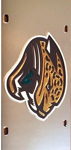 Rico Industries Jacksonville Jaguars Laser License Plate by Rico Industries