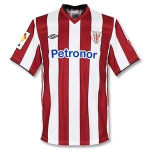 Umbro 2012-13 Athletic Bilbao Home Football Shirt