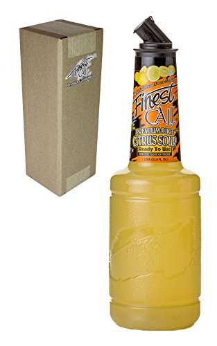 Finest Call Premium Juice Citrus Sour Drink Mix, Ready To Use, 1 Liter Bottle (33.8 Fl Oz), Individually Boxed