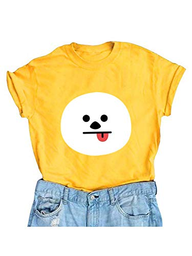 The Incredible BTS Chimmy Face Halloween Costume K-Pop BT21 T-Shirt Koya RJ Shooky Mang Chimmy Tata Cooky