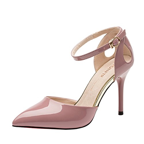 perfectaz-women-fashion-pointed-toe-slip-on-ankle-strap-buckle-thin-high-heel-pump-shoes6-bm-us-pink