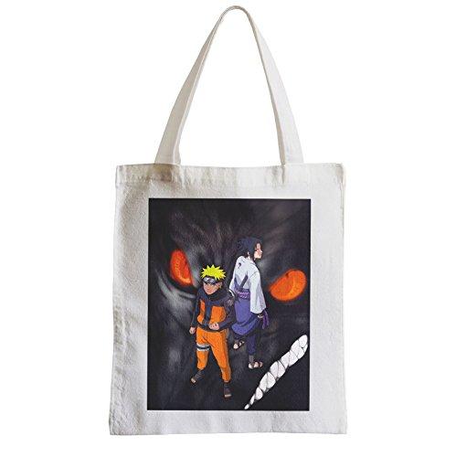Grand Sac Shopping Plage Etudiant naruto sasuke demon manga ninja monstre