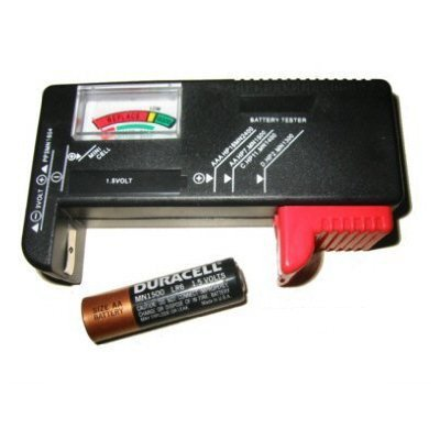 Amazon.com: Lot de 2 Professional batería Testers – -$ Ave ...