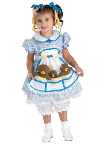 Big Baby Adult Unisex Costumes (Rubies Costume Co. Inc unisex-adult Big Girls' Goldilocks Costume Medium)