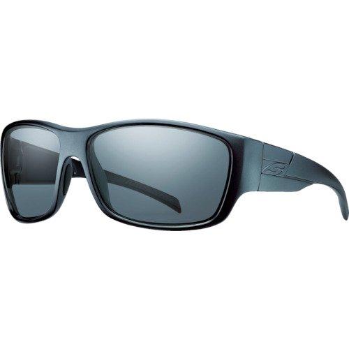 b1f900577364 Amazon.com: Smith Optics Elite Frontman Tactical Sunglass, Gray, Black:  Sports & Outdoors