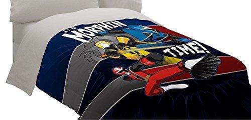 Saban Power Rangers Ninja Steel Comforter, Twin