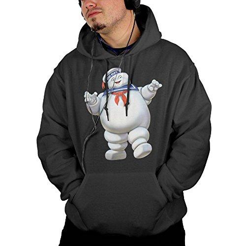 Avis N Men Ghostbusters Casual Pocket Hoodies Sweatshirt XXL Black