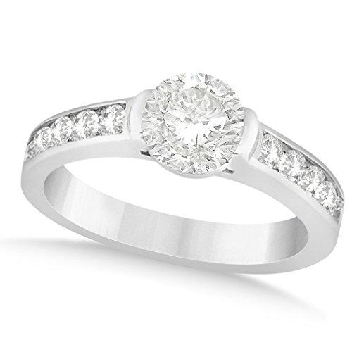 Ladies Channel Set Diamond Bezel - 5