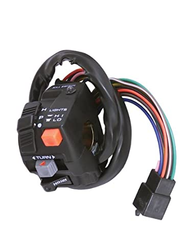 41xpi5uFtSL._SY450_ amazon com k&s technologies universal turn signal switch with led baja designs handlebar control switch wiring diagram at fashall.co