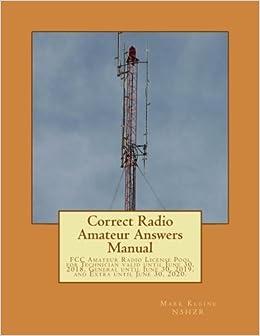 Correct radio amateur answers manual technician general and correct radio amateur answers manual technician general and extra mark paul kleine 9781535483315 amazon books fandeluxe Images