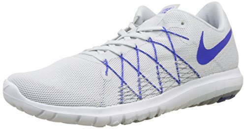 Nike Men's Flex Fury 2 Running Shoe (7.5, White)