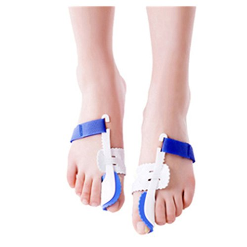 A Pair of Big Toe Bunion Straighteners Adjustable Bunion Night Splint Hammertoe Corrector Brace for Big Toes Joint Hallux Valgus Pain Relief Correctors Foot Care (Best Bunion Splint Reviews)