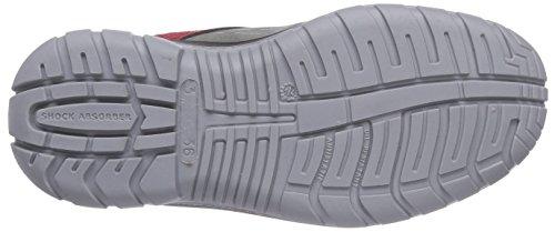 Maxguard PETER P320, Bottes de sécurité mixte adulte - multicolore - Multicolore (rot/grau), 41 EU EU