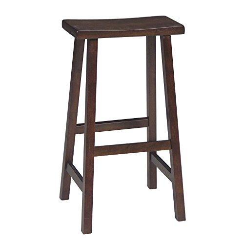 International Concepts 1S61-683 Saddle Seat Barstool Walnut 29