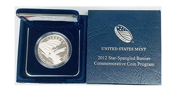 w// Mint Packaging /& COA 2012 United States Proof Silver Eagle