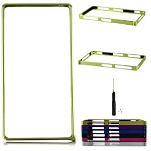 Voberry Hot Sale Aluminum Durable Metal bumper Frame Snap on Cover Case For Sony Xperia Z1 L39h