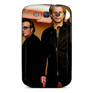 Samsung Galaxy S3 Zty3992nzCq Support Personal Customs High-definition Bon Jovi Band Series Bumper Hard Phone Cover -AaronBlanchette