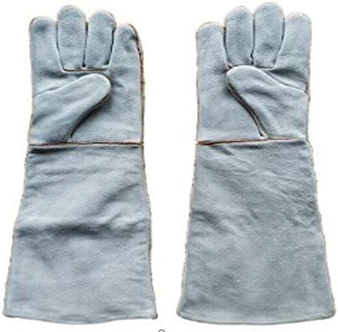 Iycorish 50Cm溶接機 厚く長い 耐摩耗性 労働保険溶接手袋高温断熱手袋