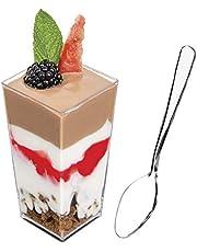 Dessert Cups Square Tall 3oz