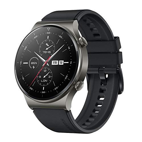 Huawei Watch GT 2 Pro Sport Smartwatch (35 mm Amoled-Display, SpO2-Monitoring, Hartslagmeting, Muziek Afspelen…
