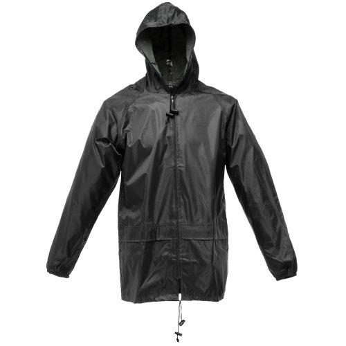 (Regatta Mens Stormbreak Waterproof Windproof Performance Jacket (3XL) (Black) )