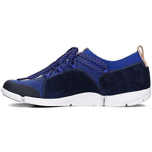 Clarks Damen Tri Amelia Sneaker Blau