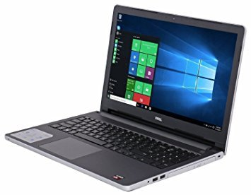 2016 Dell Inspiron 15 15.6-inch Touchscreen Flagship Laptop, AMD A10-8700P, 8GB, 1TB HDD, DVDRW, Radeon R6 Graphics, HDMI, Bluetooth, Win 10- Silver (Best Amd A10 Laptop)