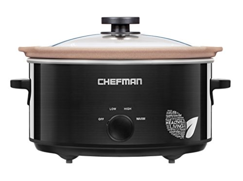 Cheapest Prices! Chefman RJ15-5-N Natural Slow Cooker - All Natural Chemical-Free Stovetop, Oven, an...