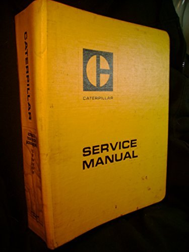 Caterpillar 631   633 Tractor Scraper S N 11G 28F 66M 67M 86H 98F Shop Service Manual