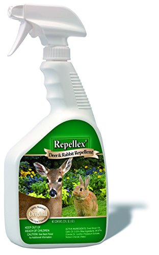 - Repellex 10001 1-Quart RTU Deer and Rabbit Repellent Original formula