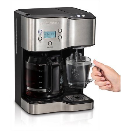 Hamilton Beach 12-Cup Coffeemaker with Hot Water Dispensing 49982 by Hamilton Beach