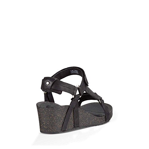 Teva Women's W Ysidro Universal Wedge Sandal, Black, 8 M US by Teva (Image #3)