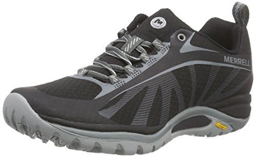 Merrell Women's Siren Edge Hiking Shoes, Black, 9 Medium