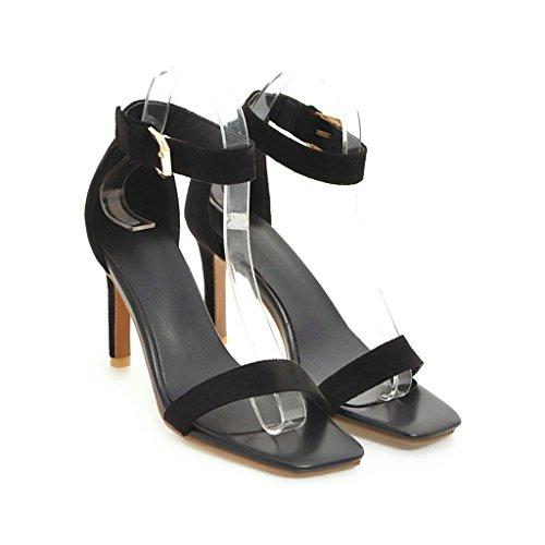 Zapatos Sandalias Mei Mujer Aguja amp;s Black Tobillo De Tacones Al TPA4B