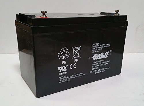 12v 100ah SOLAR WIND AGM VRLA BATTERY 12V 24V 48V by Casil