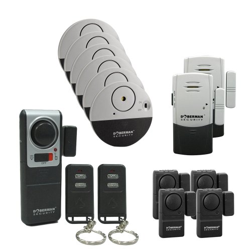Doberman Security 13 alarm Home and Office security Kit(SE-0157)