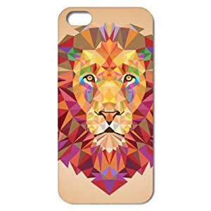 Powerful Colorful Lion Style Hard Back Case Cover for iPhone 5C 6180886M47493799