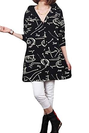 Mordenmiss Women's Front Button Hoodie Coat