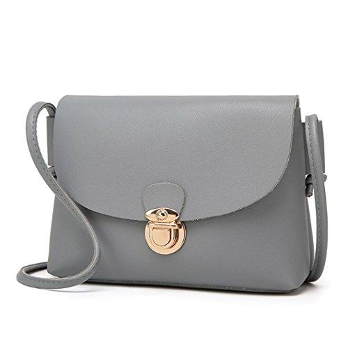 Bag Shoulder Girl body TOPUNDER Handbag Gray Colors Women by Bags ZT Cross Cheap for Small w5xtE