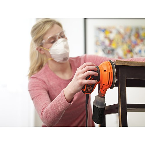 BLACK+DECKER BDERO600 Random Orbit Sander with Paddle Switch Actuation by BLACK+DECKER (Image #5)