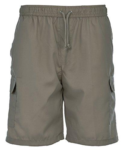 stampa x Pantaloncini L Wear uomo S In Taglia 5 Cargo Active Beige da Combat estivi trasparente tessuto a Style e qT7S1