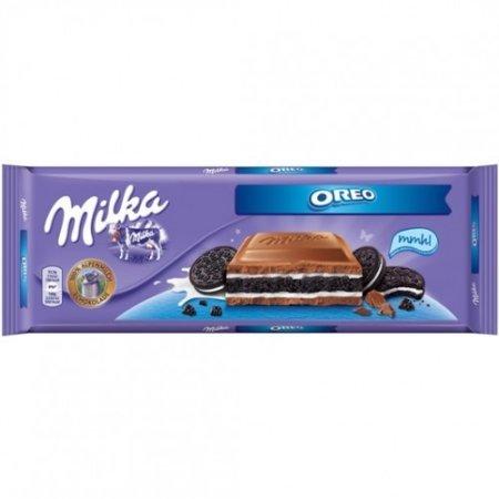 Milka Chocolate Oreo, Large Bar 300g - Sandwich Oreo