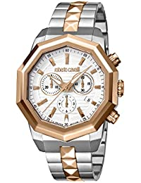Men's RC-84 Swiss Quartz Watch with Stainless Steel Strap, Rose Gold, 21 (Model: RV1G078M0086)