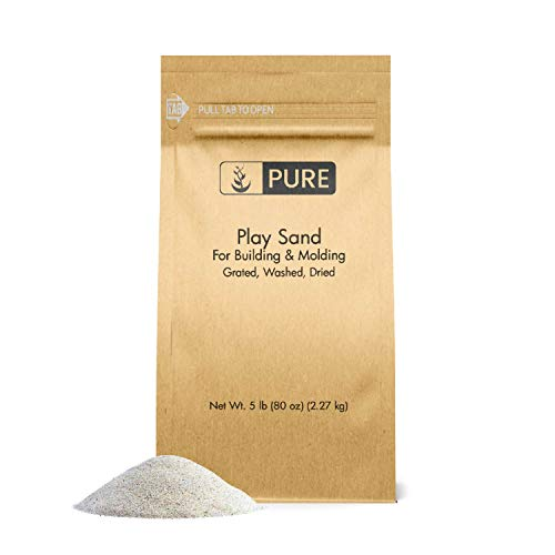 - Pure Organic Ingredients Play Sand (5 lb), Eco-Friendly Packaging,, Building & Molding, Promotes Creativity, Sandbox & Play Areas, Indoor/Outdoor