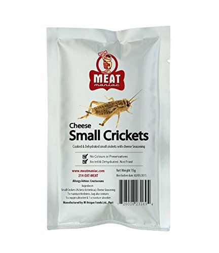 Meat Maniac Small CHEESE CRICKETS -
