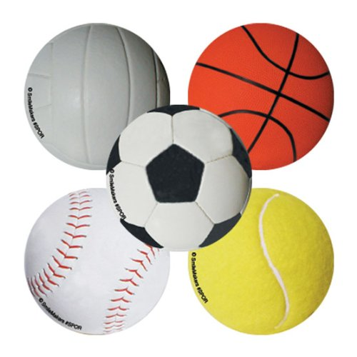 100 Sports Ball Stickers SmileMakers Inc