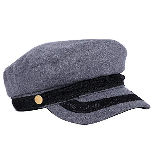 Women Wool Winter Cap Warmer lace Style Berets Thick 56-57 cm Military Style Casual Hats at Amazon Womens Clothing store: