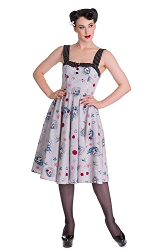 hell bunny black may day dress - 1